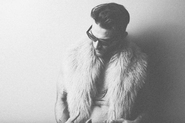 Diego Val in fur