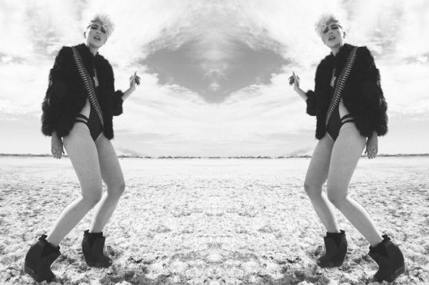 Whitney Fierce at the Salton Sea